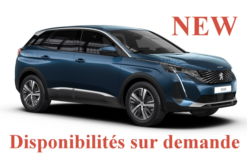 Peugeot 3008 NEW GT 1.5 BlueHdi 130 ch EAT8